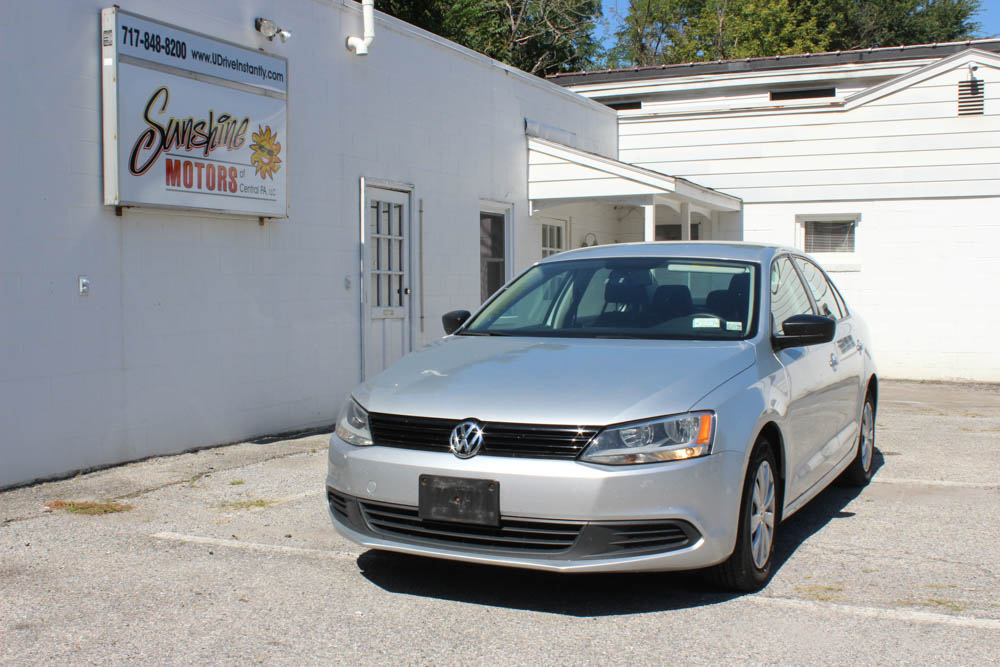 Volkswagen Jetta 2012 Front Side Buy Here Pay Here York PA