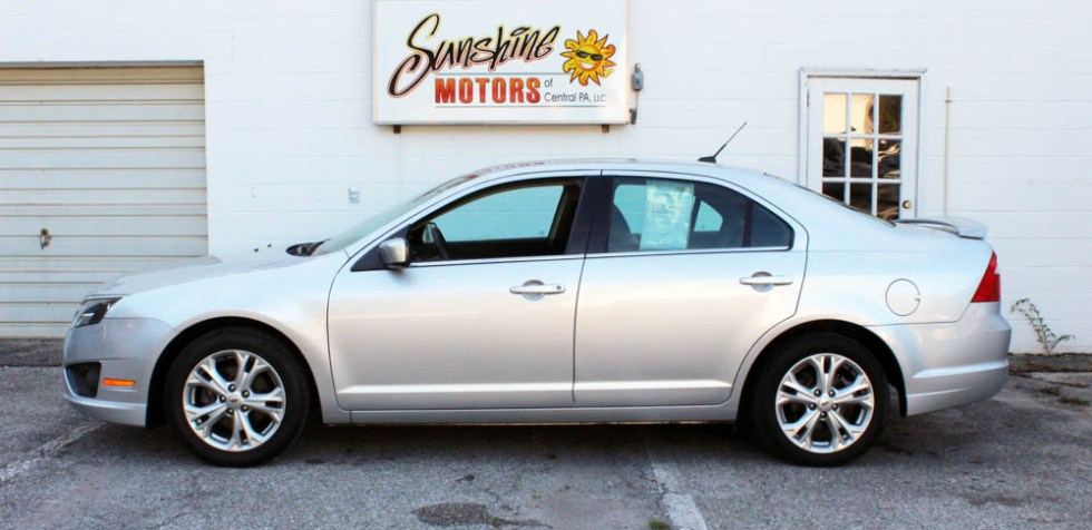 Ford Fusion 2012 Side Buy Here Pay Here York PA