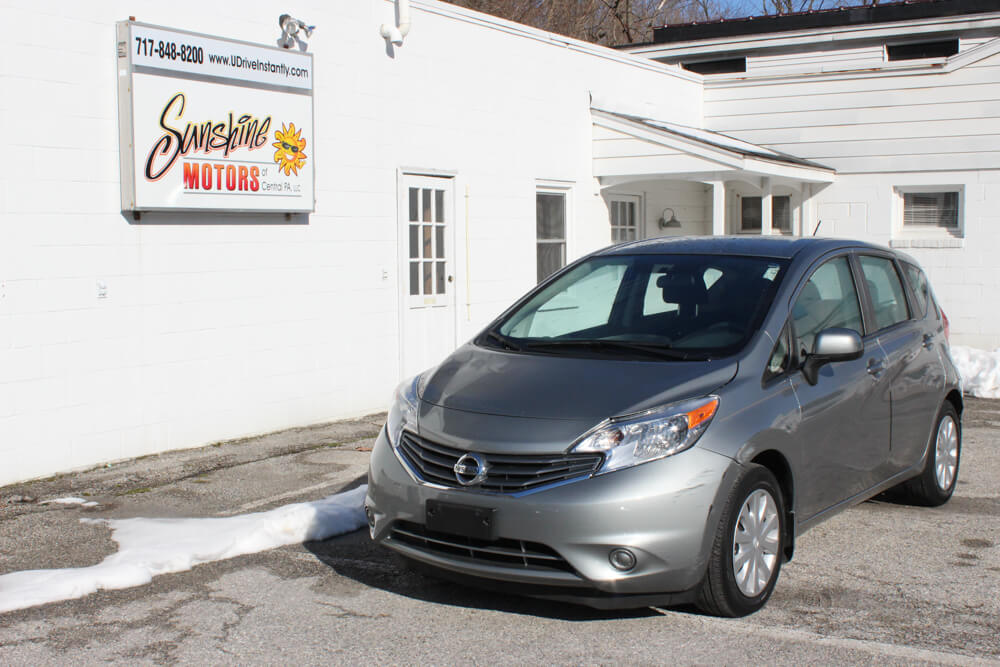 2014 Nissan Versa Note Front Side Buy Here Pay Here York PA