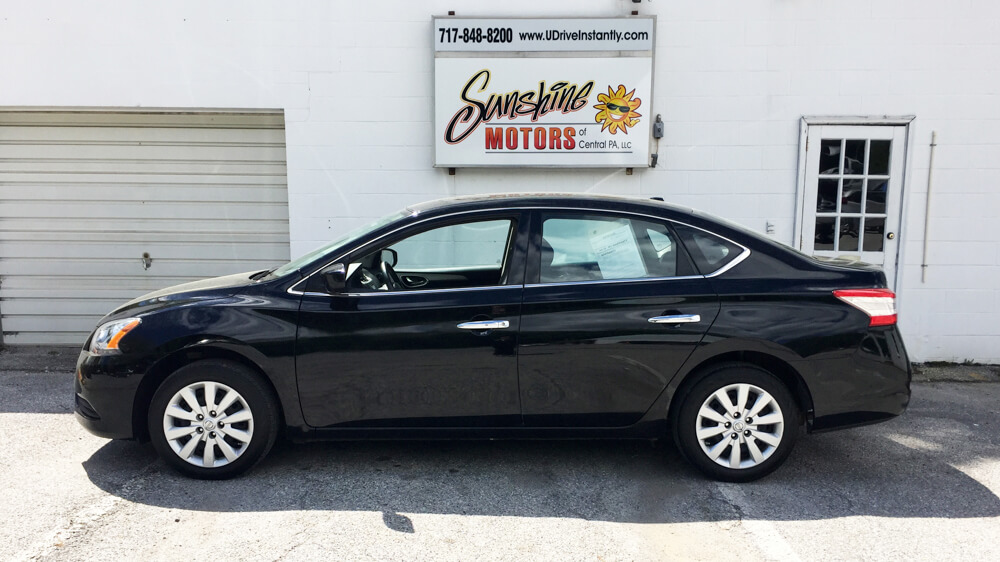 2015 Nissan Sentra Side Buy Here Pay Here York PA