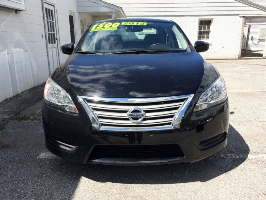 2015 Nissan Sentra Front Buy Here Pay Here York PA