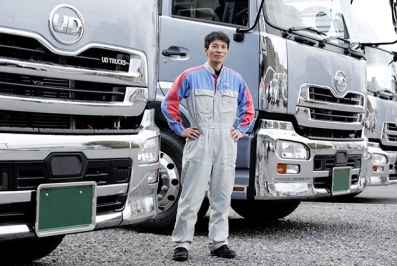 UD Trucks Customers' sites – the ultimate gemba