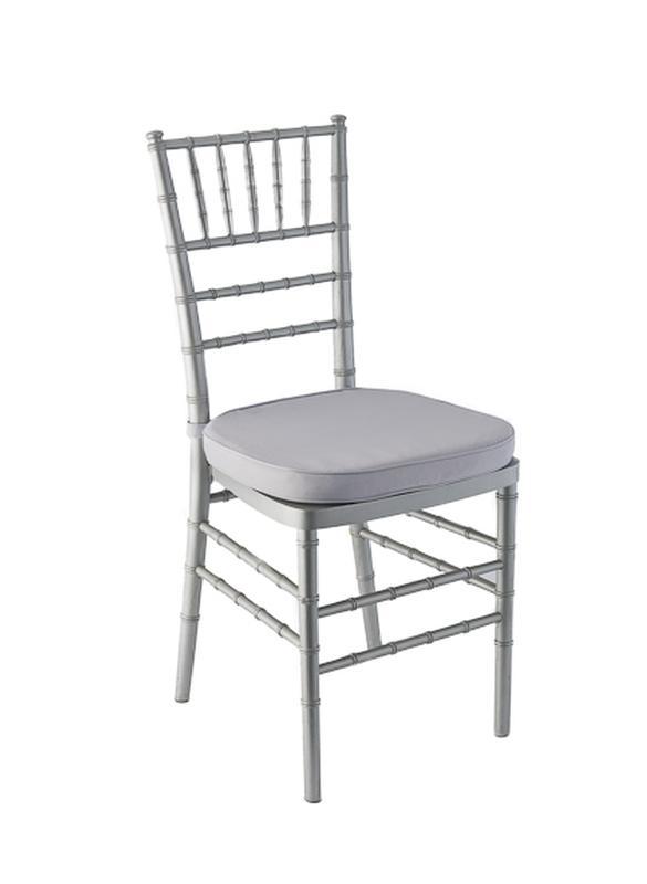 plastic chiavari chair office executive silver ballroom rental reception party banquet