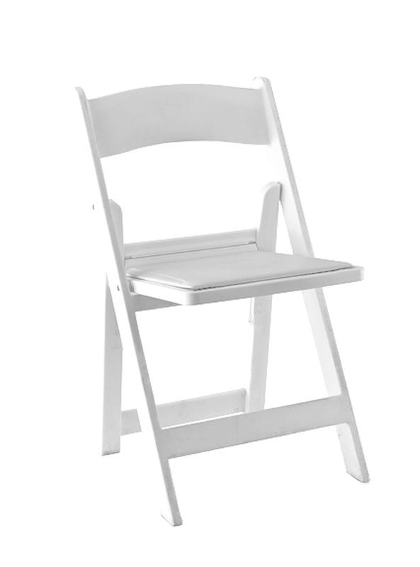 black padded folding chairs table with inside white classic chair rental reception party banquet