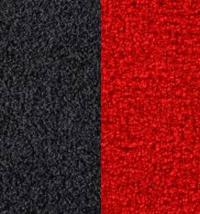 Indoor Outdoor Carpet Red Black | Artifical Lawn Carpeting ...