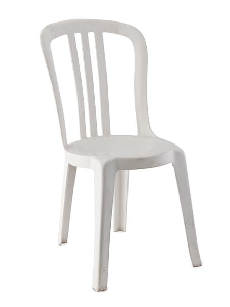 white plastic chairs chair covers crushed velvet rental stacking padded wedding banquet ultimate events bistro