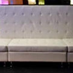 Long Chair Couch Sofa Portable Beach Lounge Chairs Sofas Seats Benches Rental Party Event Wedding Rectangular White Leather Furniture
