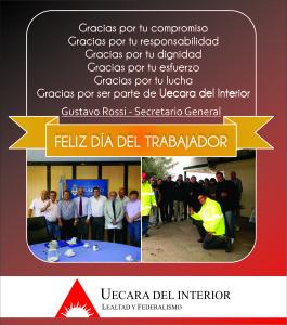 Plantilla Día del Trabajador 2 - 2014