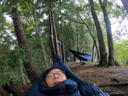 ハンモック村で一眠り