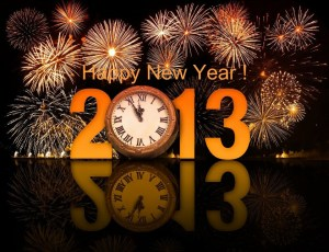 Happy New Year ! 2013