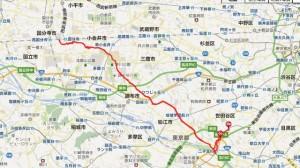 野川サイクリング2013-05-03