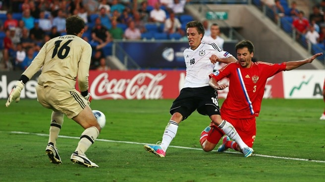 Germany bow out with victory against Russia