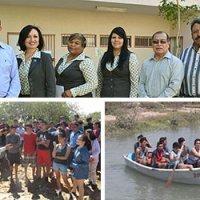 Apoya el Dictus campamento sustentable con alumnos de secundaria del Colegio Alerce