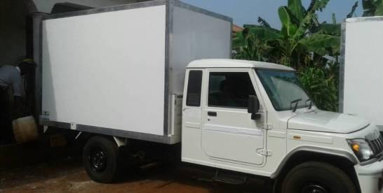 refrigerated truck body maker uganda fibreglass