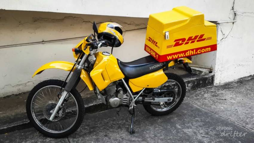 Fibreglass Motorcycle Box in Uganda - UEL