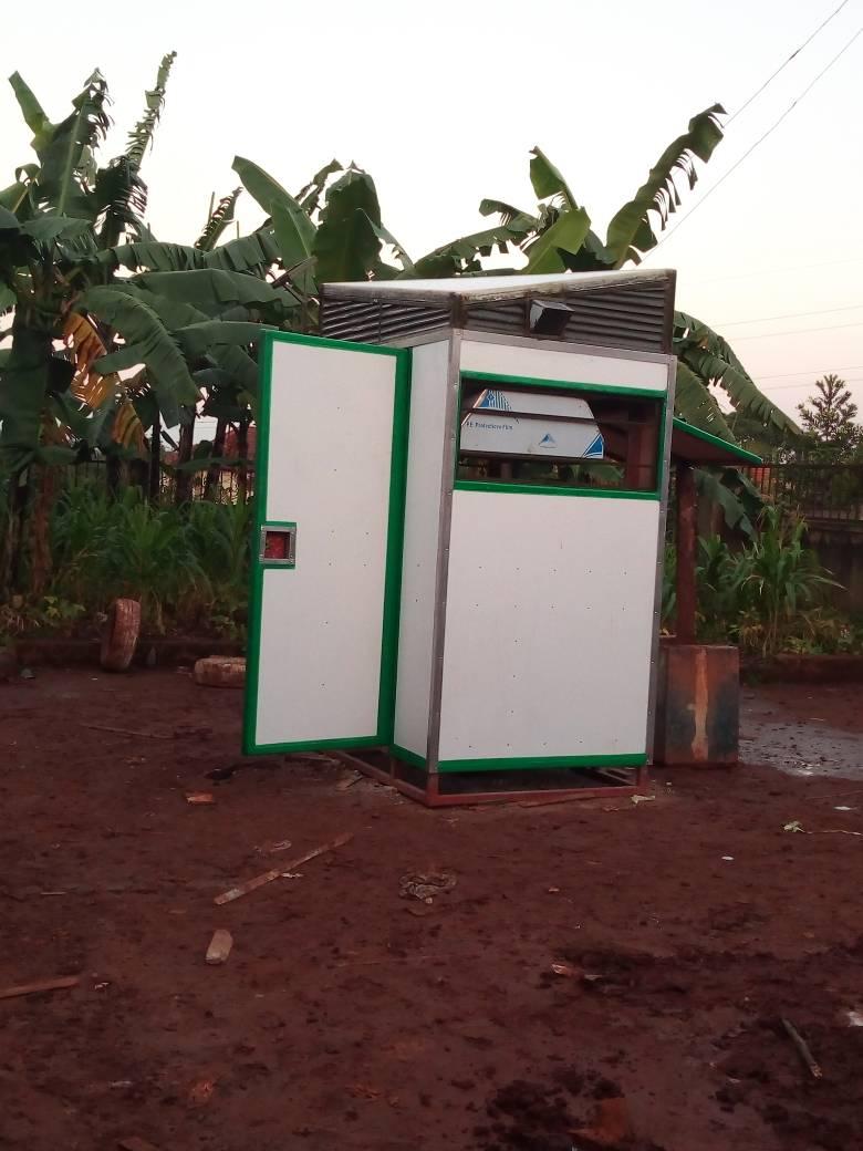 Fibreglass Kiosk Uganda