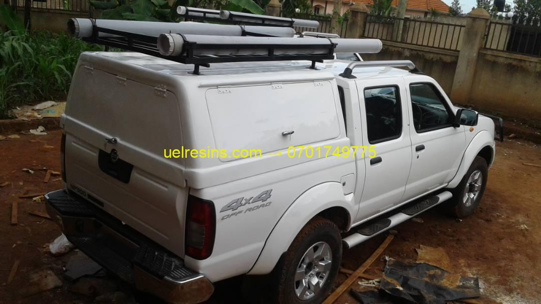 UEL Fibreglass Canopy Uganda