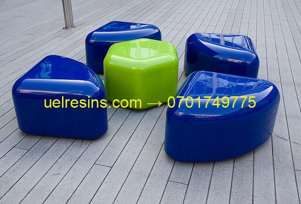 Fibreglass furniture - Uganda, Rwanda, Kenya