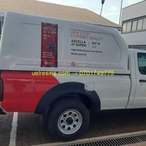 UEL Fibreglass Canopy Pickup Truck Kampala - Uganda at Low Price