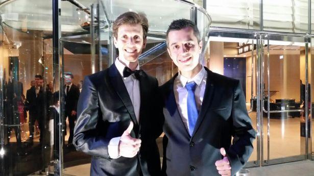 Josep Anton ITTF Star Awards 2014 1