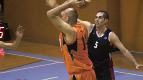 Santi Suso en una imatge d'un partit de la temporada passada II Foto: Cugat.cat