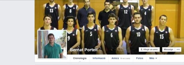 Bernat Portell exjugador Júnior 1 UESC temporada 2015-2016 a Itàlia