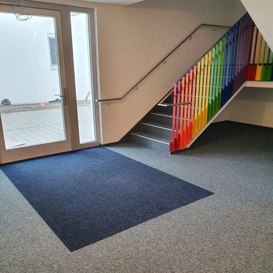 UF Bodenverlegung Teppich