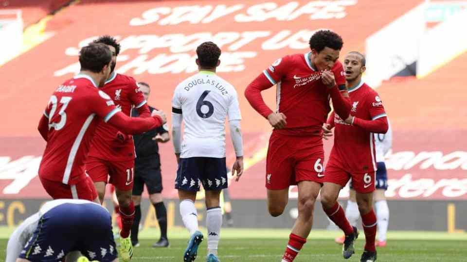 Liverpool vs Aston Villa 11.04.2021 ไฮไลท์ฟุตบอล