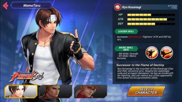 ข่าวเกม The King of Fighters Allstar