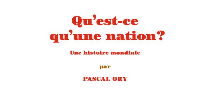 🎧 I tréma #4 : «Qu'est-ce qu'une nation» de PascalOry