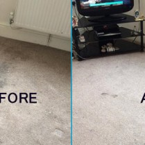 Carpet Cleaning Service (Before & After)