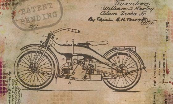 disegno di un brevetto che può essere oggetto di patent box