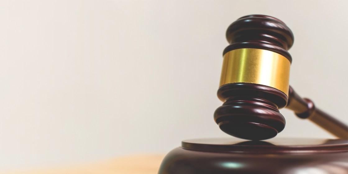 martello del giudice legale