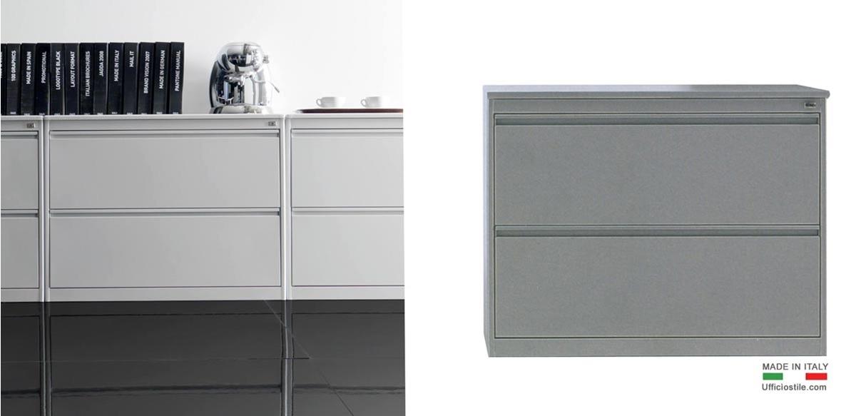 Mobili per ufficio  Classificatore metallo a 2 cassetti