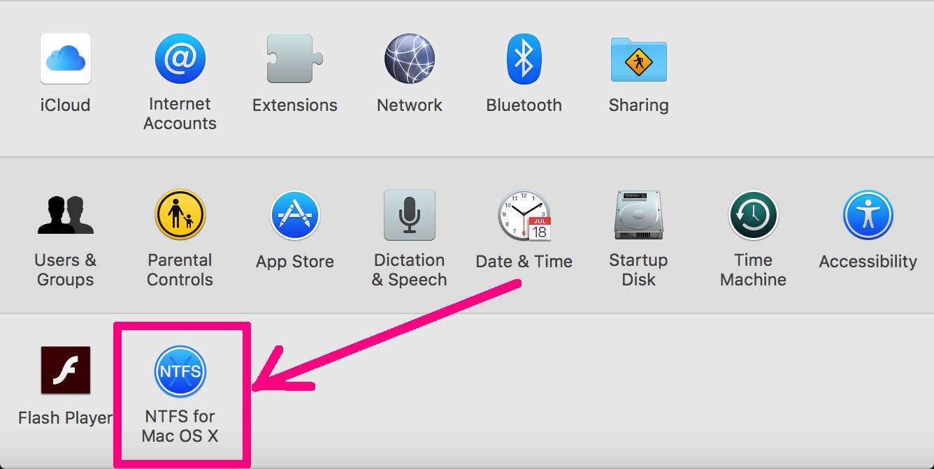how to format ntfs from mac