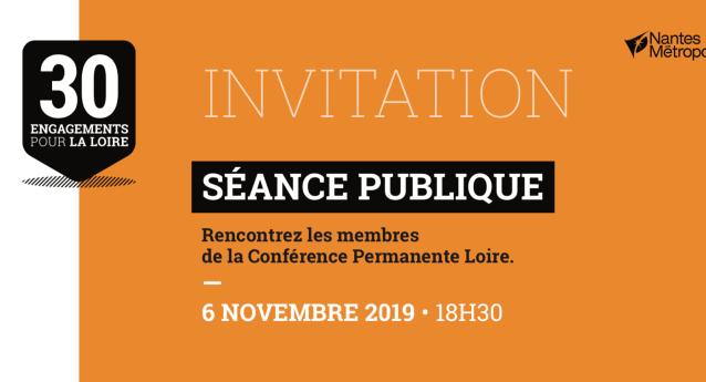 Rencontrez les membres de la Conférence Permanente Loire le 6 Novembre 2019