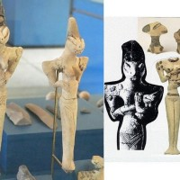 Sumerian Annunaki sculptures Hybrid Aliens DNA Reptilian 200x200 Ancient Sumerian Anunnaki Gods From the Sky