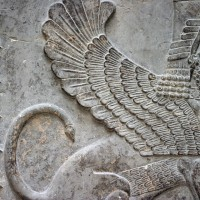 Sumerian Hybrid Winged Sphinx 200x200 Ancient Sumerian Anunnaki Gods From the Sky