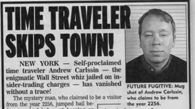 The Strange Case of Andrew Carlssin
