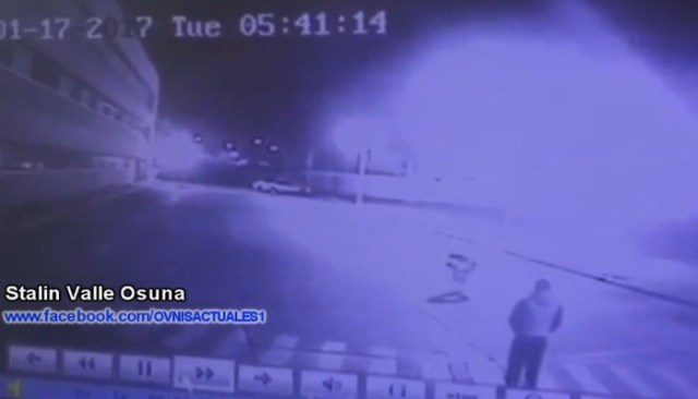 """Security Camera registers an """"Extraterrestrial Entity"""""""