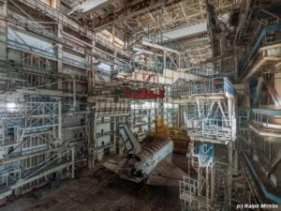 Soviet Hangar Found in the Kazakh desert