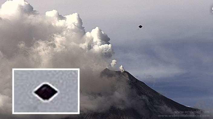 UFO sightings near Volcanic Eruption