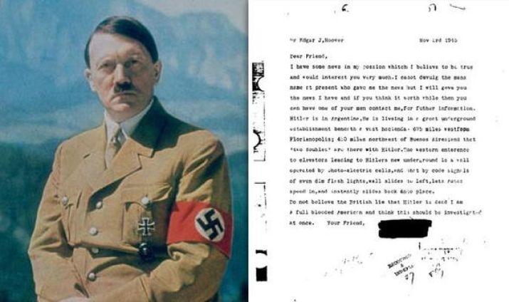 Hitler escaped