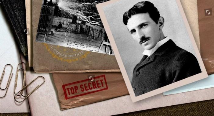 documents saisis après la mort de Nikola Tesla