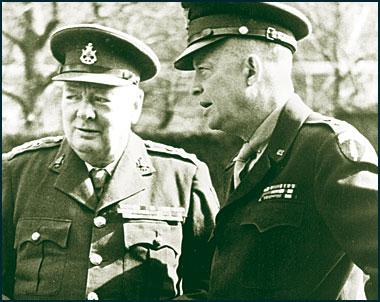 Winston Churchill Dwight Eisenhower Covered up UFO