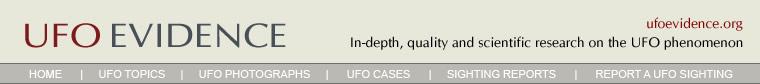 UFO Evidence header