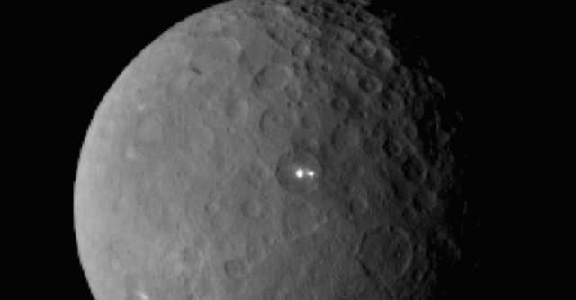 Two Flickering Lights On The Dwarf Planet Ceres