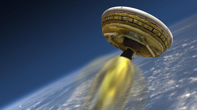 NASA's Flying Saucer style Craft
