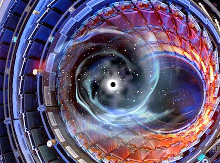 Resultados imagens LHC, wormhole