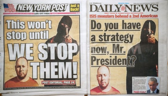 Doom, gloom and FEAR in the papers